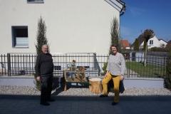 Der Drechsler kann im April bei Steck & Müller begutachtet werden.
