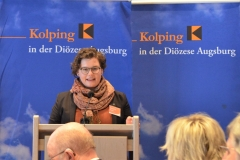 Katharina Heckl kandidiert, wie auch Ralf Eger, für den Posten der/des stellvertretenden Diözesanvorsitzende(n).