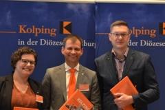 Das neue Führungstrio: Katharina Heckl, Robert Hitzelberger, Ralf Eger