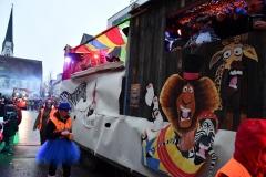 Zirkus war das Motto unseres Faschingswagens.