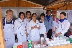 Der Bobinger Frauenbund kümmerte sich um Kaffee und Kuchen.