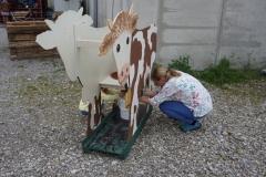 ... eine Melk-Kuh....