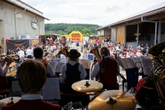 Musikalisch begleiteten den Frühschoppen die Jungen Bobinger Böhmischen.