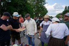 Ob in Tracht, mit dem Kolping-T-Shirt oder traditionell in Handwerkerkluft - unsere Gruppe war bunt gemischt.