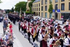 Nach dem Jugendblasorchester der Stadtkapelle Bobingen, ...