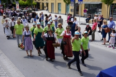 Bei der Parade mit dabei war auch der Obst- und Gartenbauverein.