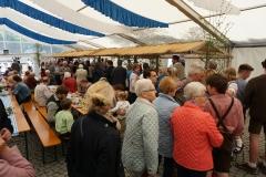 Maifest 2019: Nach dem Festgottesdienst gab es Mittagessen