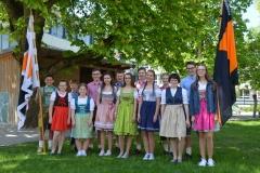 Maifest 2019: Die Tänzer des Mühlradels 2019