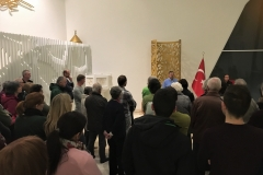 Besonders beeindruckend war die Akkustik des großen Gebetsraumes.