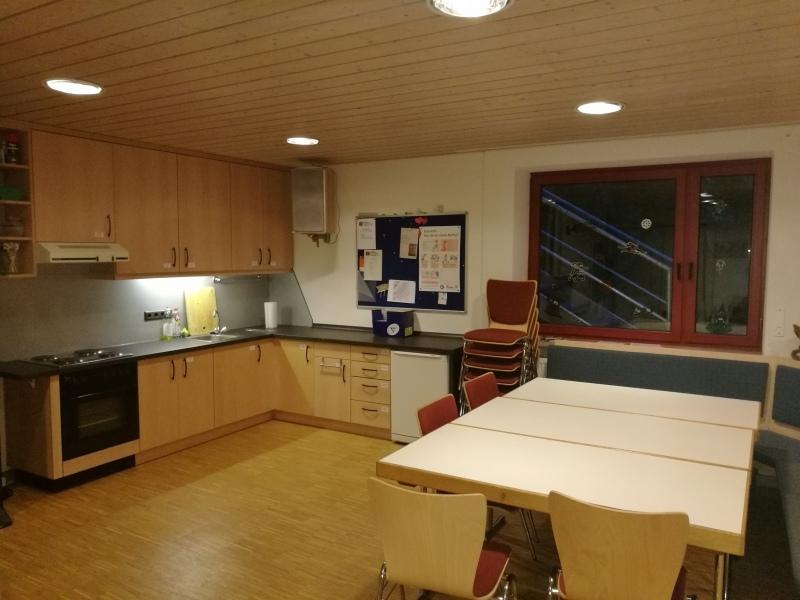 Jugendraum der Kolpingjugend: Im Küchenbereich werden regelmäßig viele leckere Dinge zubereitet.