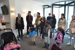 Ehe dann alle gemeinsam in das Therapiezentrum am Lindenhof gingen.