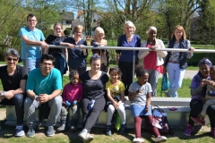Zum Abschluss zeigten wir den Teilnehmern unseren Singoldpark.