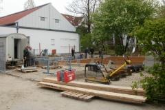 Lager: Bewehrung-Bodenplatte , Quelle: Kolping und Architekturbüro Michael Treupel