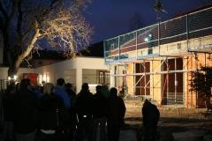Lager: Richtfest, Quelle: Kolping und Architekturbüro Michael Treupel